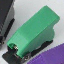 Osłona przełącznika dźwigniowego - SAC-01 Green  - zabezpieczająca blokada