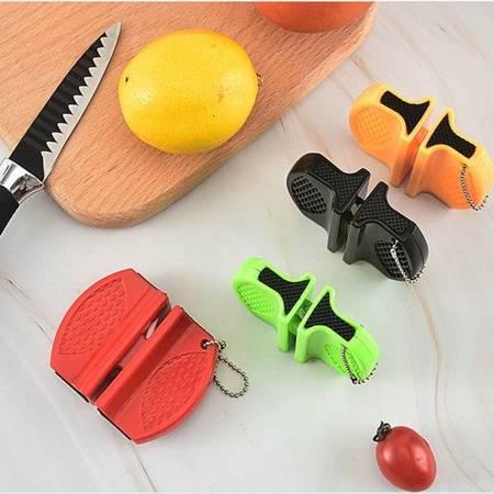 Ostrzałka do noży i nożyczek ceramiczna - Mini osełka 2-stopniowa