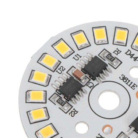 Panel  LED okrągły - 15W - 230V - światło białe zimne - 22 diody SMD 2835