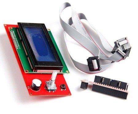 Panel kontrolny 2004 LCD Controller dla RAMPS 1.4 z czytnikiem kart SD - Zestaw RepRap 3D