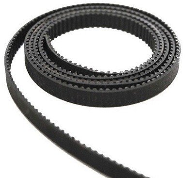 Pasek zębaty GT2 Black - napędowy - szerokość 6mm - Taśma do drukarki 3D CNC