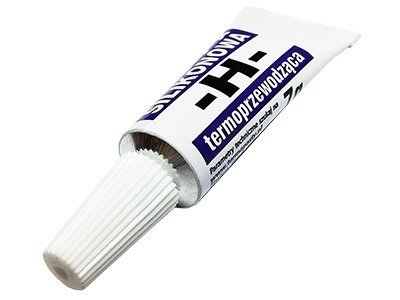 Pasta termoprzewodząca silikonowa H - tubka 7g