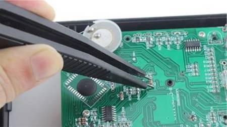 Pęseta do pomiaru elementów SMD - Przewód pomiarowy do multimetru