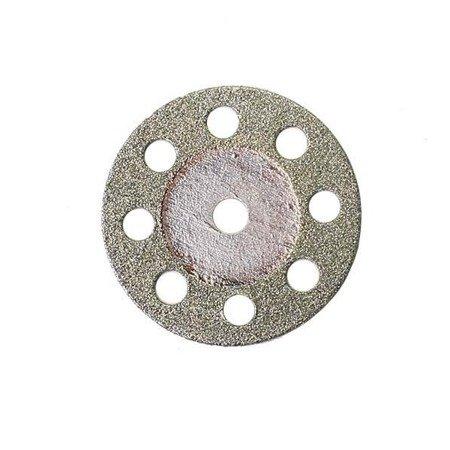 Piła tarczowa metal 10szt - szkło - kamień - 22 mm - diamentowa - Dremel - mini gumówka
