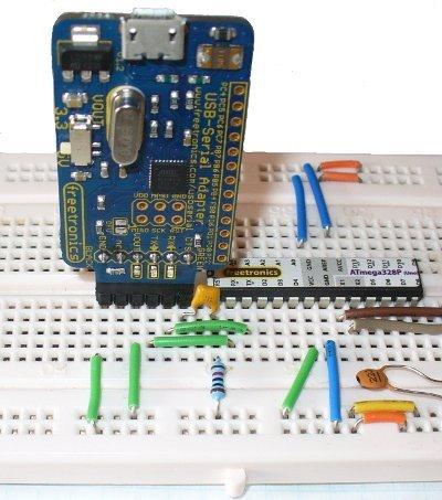Płytka stykowa 170 pól - SYB-170 - biała - budowa prototypów Arduino