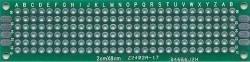 Płytka uniwersalna 20x80mm - PI21Z - dwustronna - PCB budowa prototypów