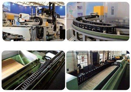 Prowadnik do kabli 10x10 -1mb - prowadnica łańcuchowa przewodów - CNC