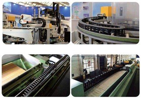 Prowadnik do kabli 10x15 -1mb - prowadnica łańcuchowa przewodów - CNC