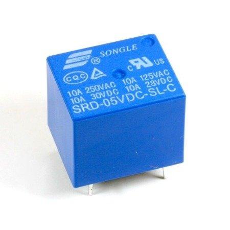 Przekaźnik SONGLE SRD-05VDC-SL-C - 5V - styki 230VAC 10A