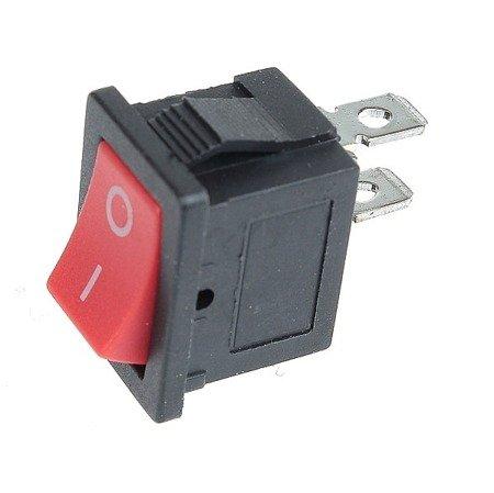 Przełącznik kołyskowy MRS101B-C3R - 15x21mm - 2PIN - ON/OFF - monostabilny