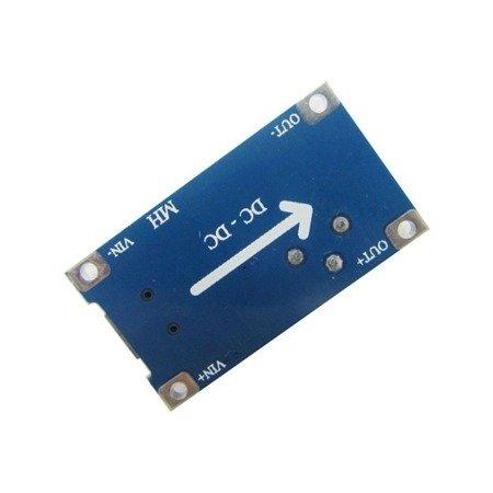 Przetwornica 2A z USB - STEP-UP - napięcie regulowane 5-28V