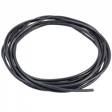 Przewód silikonowy miedziany ocynowany 22AWG - 66 żył - 0,33 mm2 - czarny - elastyczny