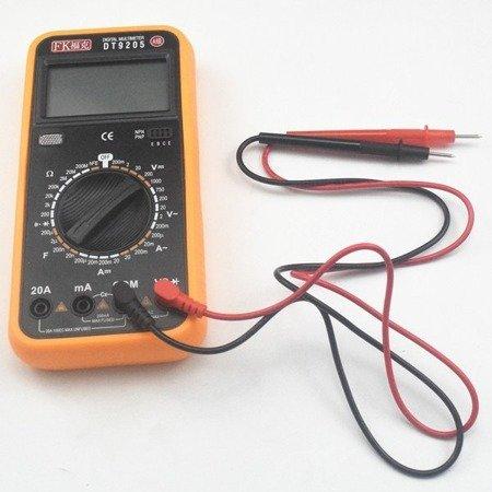Przewody pomiarowe kątowe do miernika 9205 - 1000V 10A - sondy