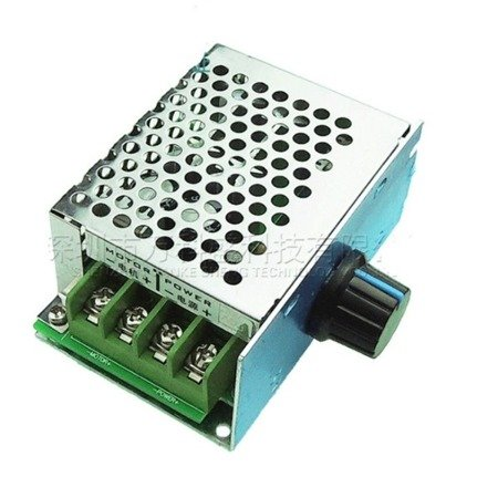 Regulator prądu stałego PWM 10-50V DC 20A - regulator obrotów silnika