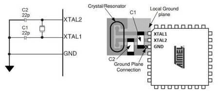 Rezonator kwarcowy 16 MHz - kwarc niski HC-49 THT - 1 szt.