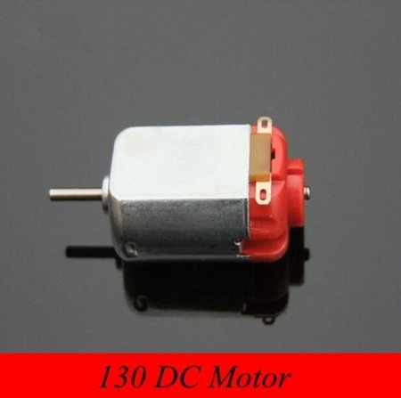 Silnik szczotkowy DC 1V - 3V klasy 130 - MT78 - 16,500 RPM