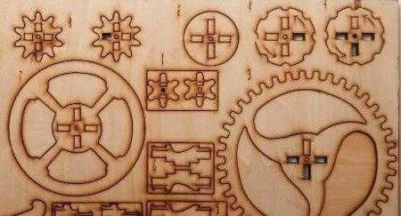 Sklejka 2mm 200x100 mm - Deska do rzeźbienia i cięcia laserem - Formatka
