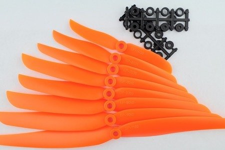 Śmigło ABC-Power 9x5 - orange - śmigło 9050 z wkładką redukcyjną