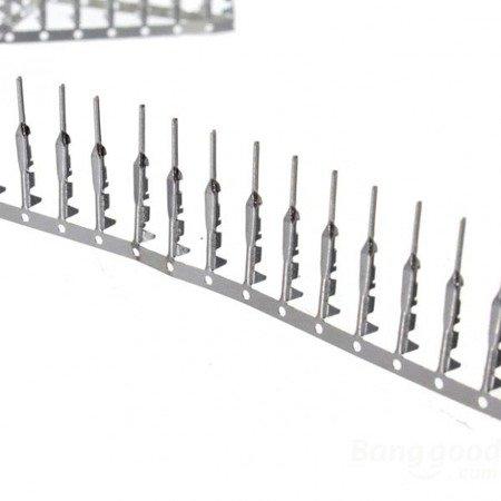 Styk NSR/NDR - męski - do wtyków kołkowych 2,54mm - 10 szt