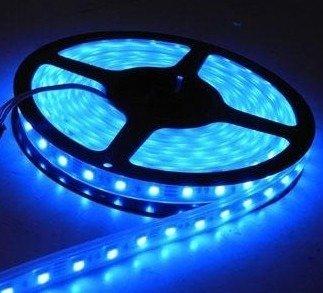 Taśma LED 20cm 12V - niebieska - 12 diod