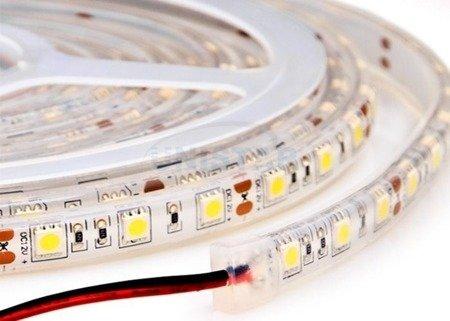 Taśma LED wodoodporna 20cm 12V - biała - 12 diod