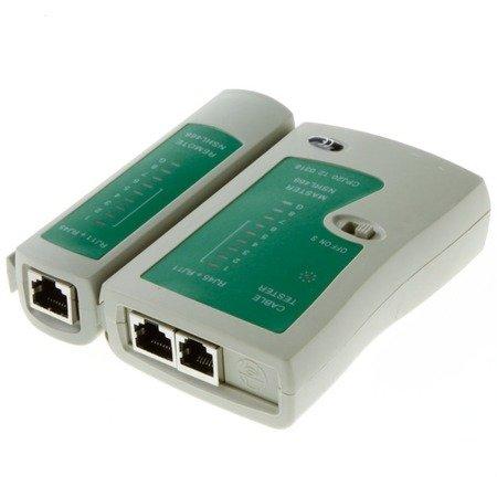 Tester Kabli sieciowych RJ45/RJ11