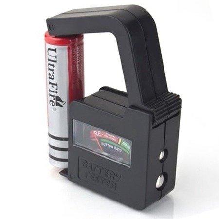 Tester baterii i akumulatorów - BT-860 - 1,5V 9V - miernik naładowania i pojemności