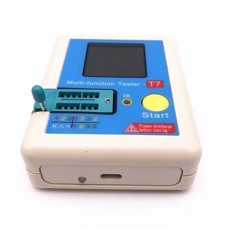 Tester tranzystorów LCR-T7 - miernik - RLC ESR NPN PNP MOSFET - IR
