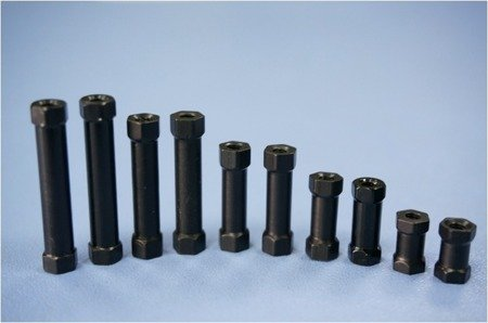 Tuleja Dystansowa 30mm M3 - Słupek Aluminiowy (black)