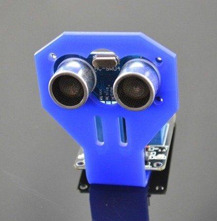 Uchwyt czujnika odległości HC-SR04 - mocowanie czujnika