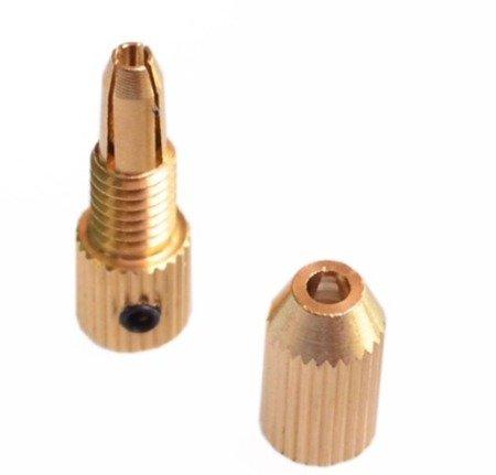 Uchwyt do Mini Wiertarki na wiertła od 0,7mm do 1,5mm - głowica wiertła na oś 2mm