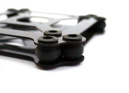 Wibroizolator 14mm/12mm - średnia twardość - niebieski - damper, amortyzator - 1 szt