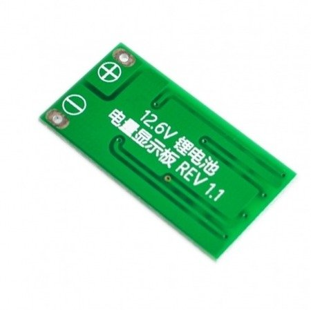 Wskaźnik naładowania akumulatora 3S - Li-Po - Li-ion - procentowy