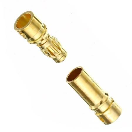 Wtyki GOLD - 3,5mm - para - konektory Gold typu Banan