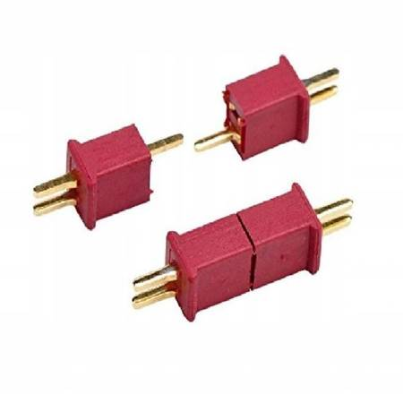 Wtyki T Mini-2 (DEAN) Konektor - Złacze Mini/Micro T-DEAN - 1 para - T-Connectors Mini