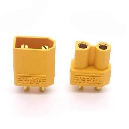 Wtyki XT30 - Konektor mini wtyk i gniazdo wysoko-prądowe