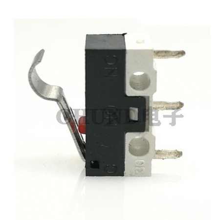 Wyłącznik krańcowy NO/NC - 2A/125VAC - dźwignia 13mm