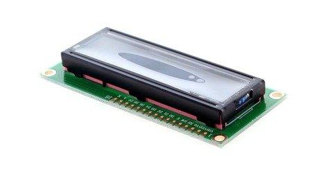Wyświetlacz LCD 2x16 ze sterownikiem HD44780 - QC1602A