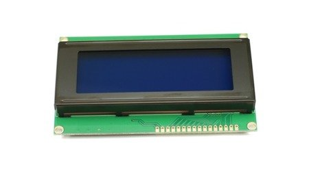 Wyświetlacz LCD 4x20 - Niebieski - ze sterownikiem kompatybilnym z HD44780 - QC2004A