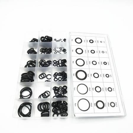 Zestaw uszczelek 225szt - Uniwersalne oringi 3mm-22mm - O-ring