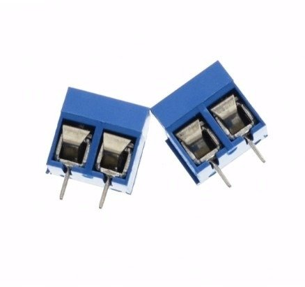 Złącze ARK 2PIN - raster 5mm - do zalutowania, druku - 10szt.